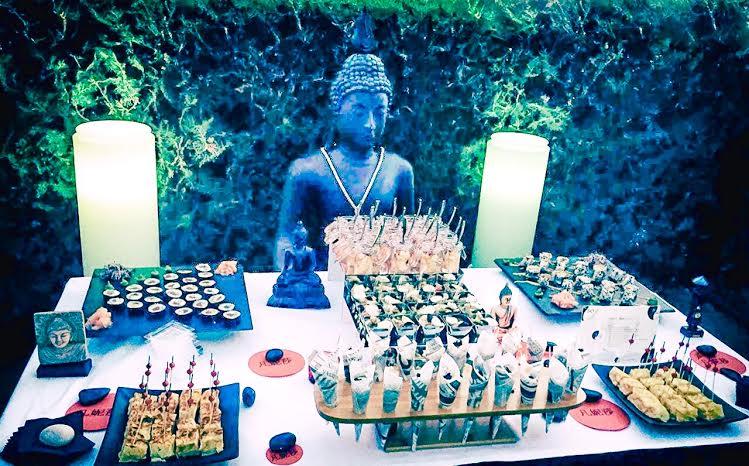 Cumple sorpresa jeso catering for Decoracion casa budista